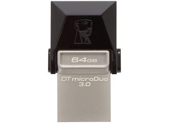 Kingston 64GB Flash Drive MicroDuo 3C USB3.1