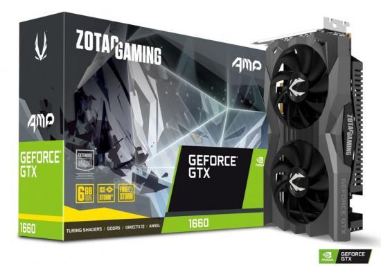 Graphic Card  ZOTAC GAMING GeForce GTX 1660 AMP 6GB GDDR5