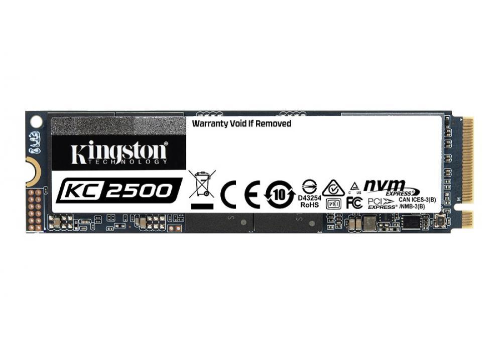 Kingston's SSD KC2500 M.2 2280 NVMe -250G