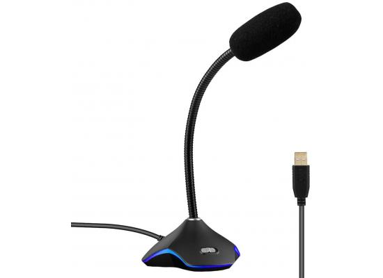 MIC USB RGB Colorful Multimedia Microphone