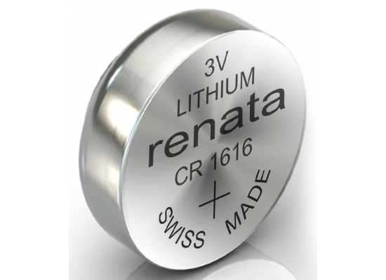 Renata Lithium  Battery CR1616
