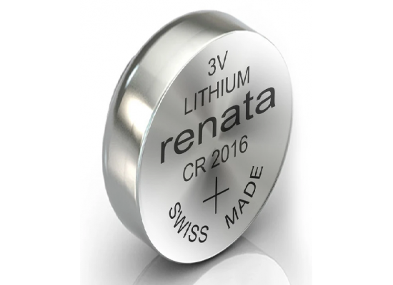 Renata Lithium Battery CR2016