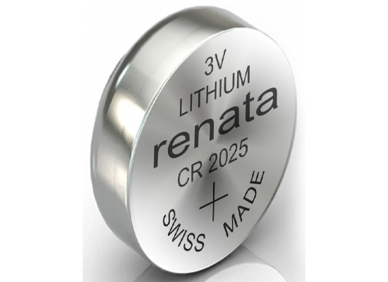 Renata Lithium  Battery CR2025