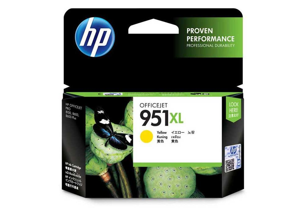 HP Ink 951XL Yellow