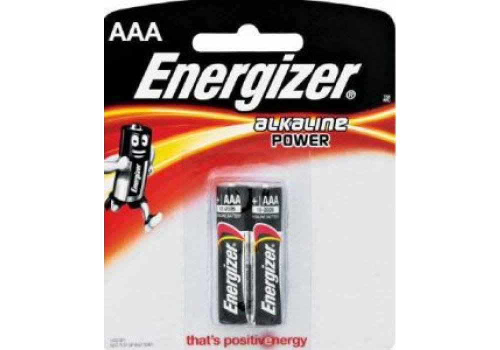 Energizer Alkaline Power Battery AAA