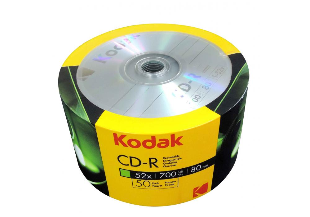 CD-R Kodak 50 PACK 700MB