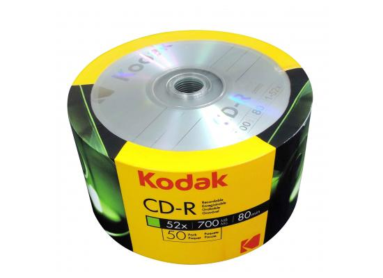 CD-R Kodak 50 PACK 700MB