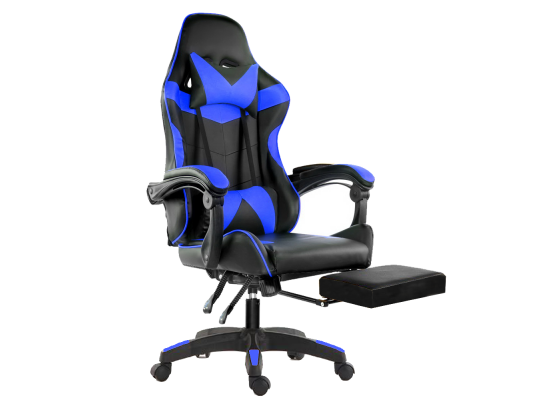 Gaming chair Blue D02