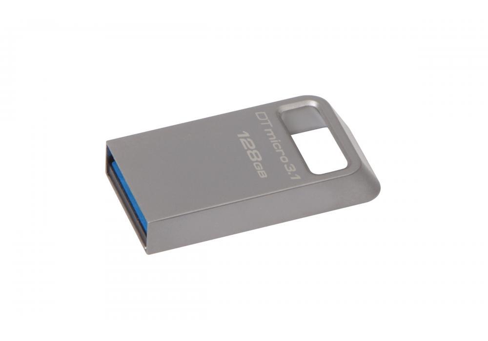 kingston flash 128GB Micro USB 3.1/3.0 Type-A metal ultra-compact drive