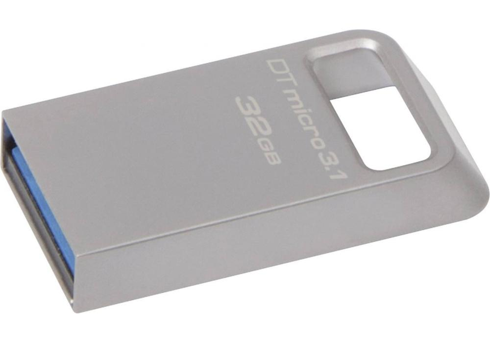 kingston flash 32GB Micro USB 3.1/3.0 Type-A metal ultra-compact drive