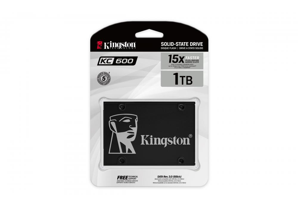Kingston SSD KC600 1024GB