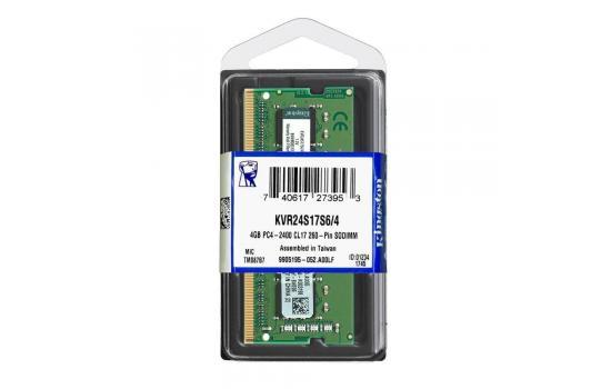 Kingston Ram 4GB 2400Mhz DDR4 For Laptop
