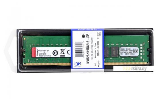 Kingston Ram 16GB 2666 MHz DDR4 For Pc