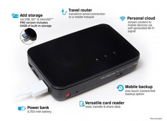 Kingston Power Banks MobileLite Wireless 5400mAh