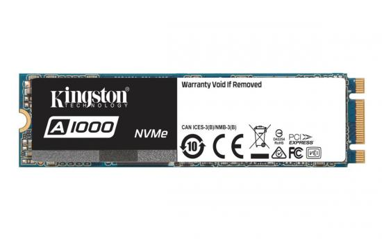 Kingston's SSD A1000 Solid-state Drive M.2 960GB