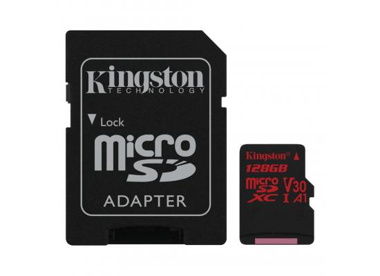 Kingston 128GB memory card Canvas React Card + SD Adptr