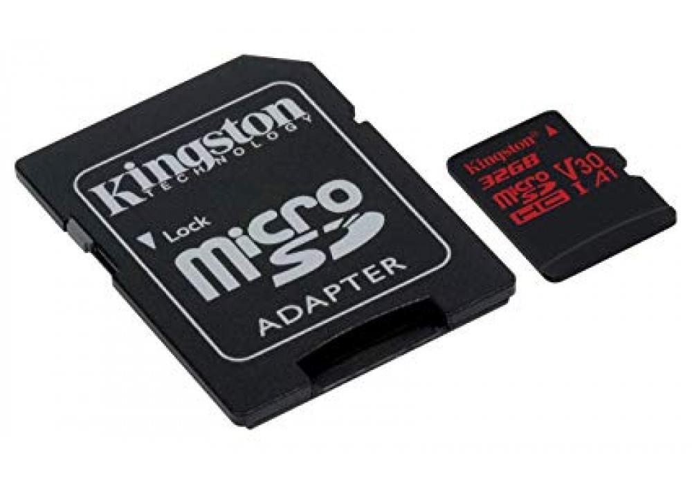 Kingston 32GB memory card Canvas React Card + SD Adptr