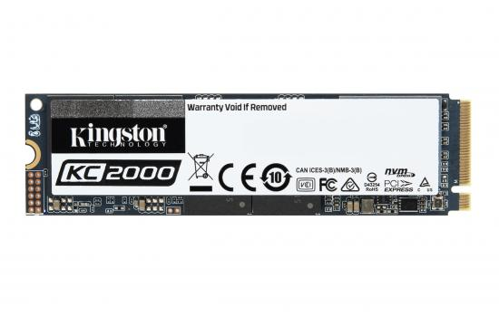 Kingston's SSD KC2000 Solid-state Drive M.2 1TB