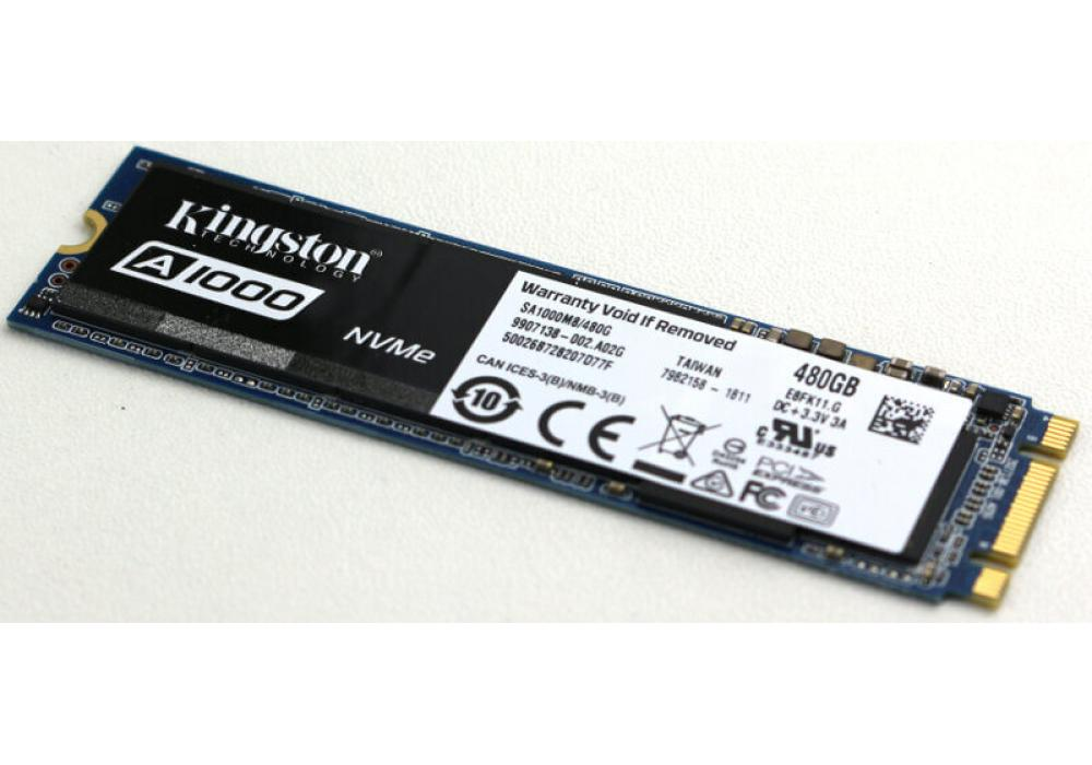 Kingston's SSD A1000 Solid-state Drive M.2 480GB