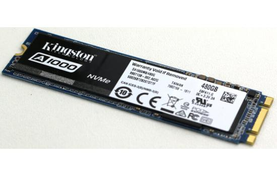 Kingston's A1000 Solid-state Drive M.2 480GB