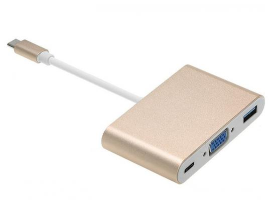 Converter Type-C to USB3.0 - VGA - TYPE-C