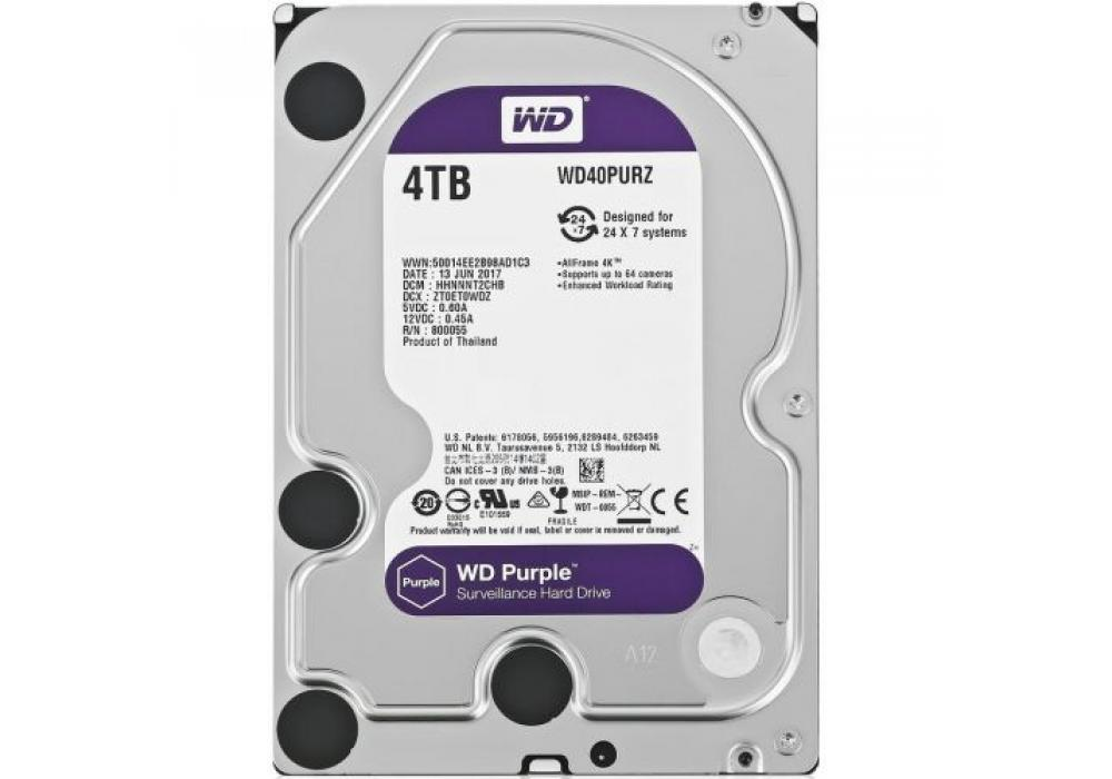 WD Purple 4TB Hard Drive