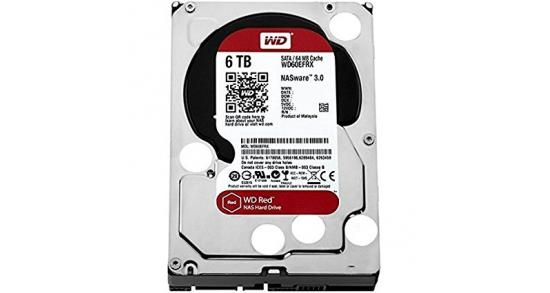 WD Red 6TB Hard Drive