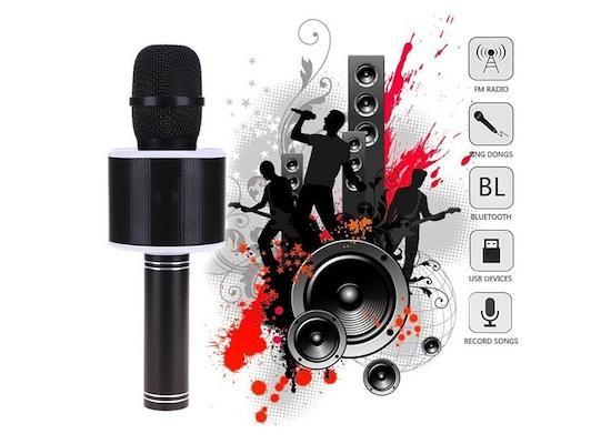 WSTER Bluetooth 2.0 Wireless karaoke Mike