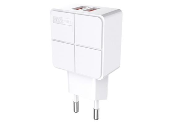 AWEI Travel Charger  2 USB