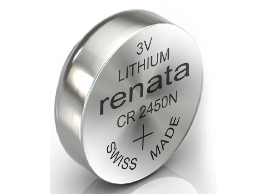 Renata Lithium  Battery CR2450N