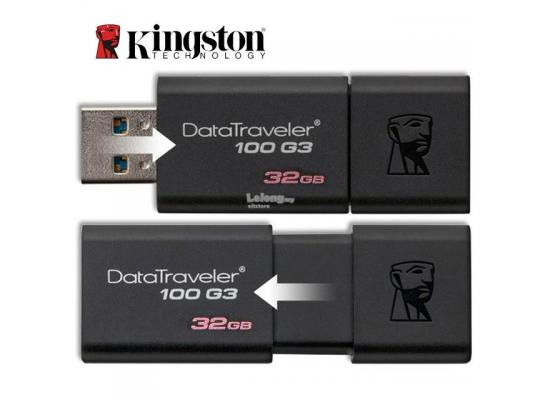 kingston flash 32GB USB 3.0 DataTraveler 100 G3 (100MB/s read)