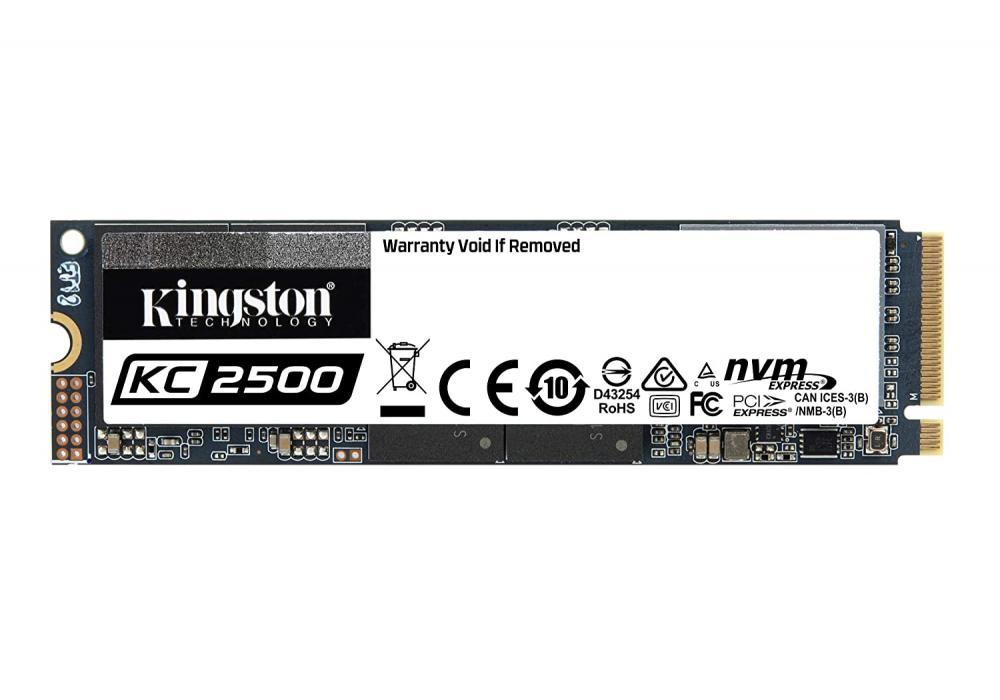 Kingston's SSD KC2500 M.2 2280 NVMe /500G