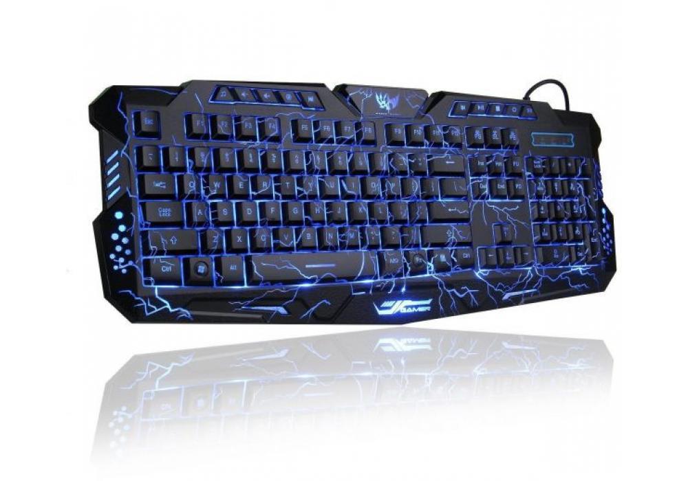 Gaming Keyboard Womail USB Illuminated Led Backlit Crack