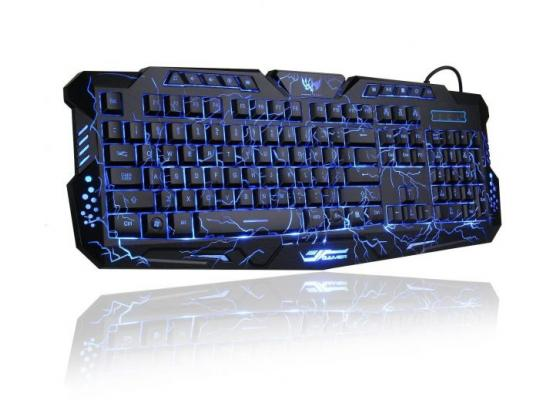 Gaming Keyboard Womail USB Illuminated Led Backlit Crack