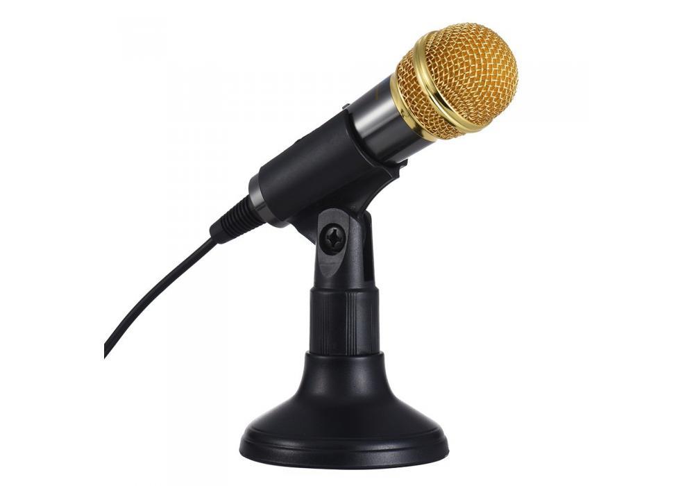 Transhine High Quality Gold Condenser Microphone