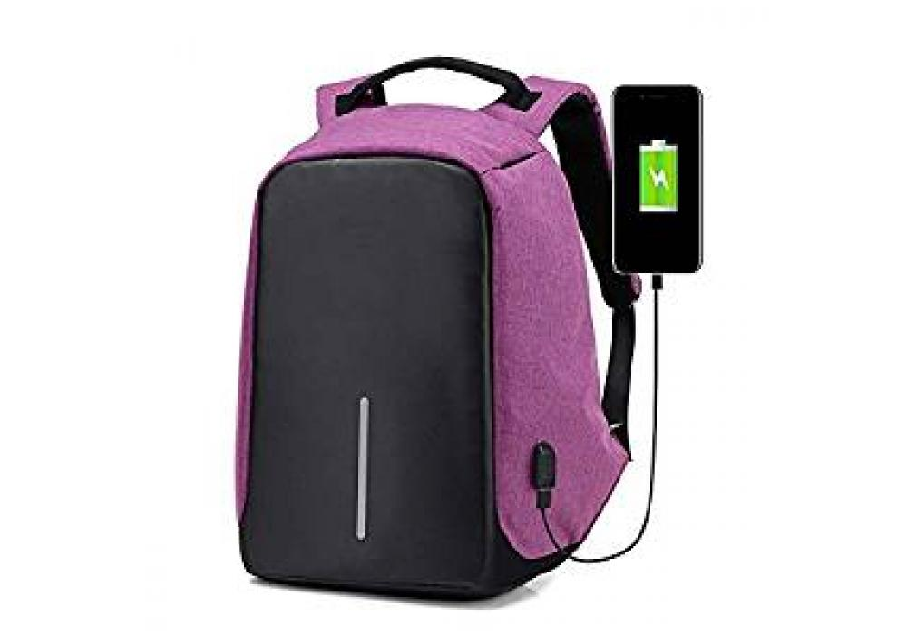 "Smart Laptop Backpack 15.6"" With USB Lightweight"