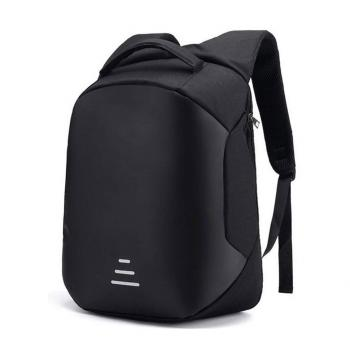 "Smart Laptop Backpack 15.6"" With USB Black"
