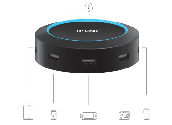 TP-LINK DAPTER 25W 5-Port Hub Smartphones & 5-Port USB
