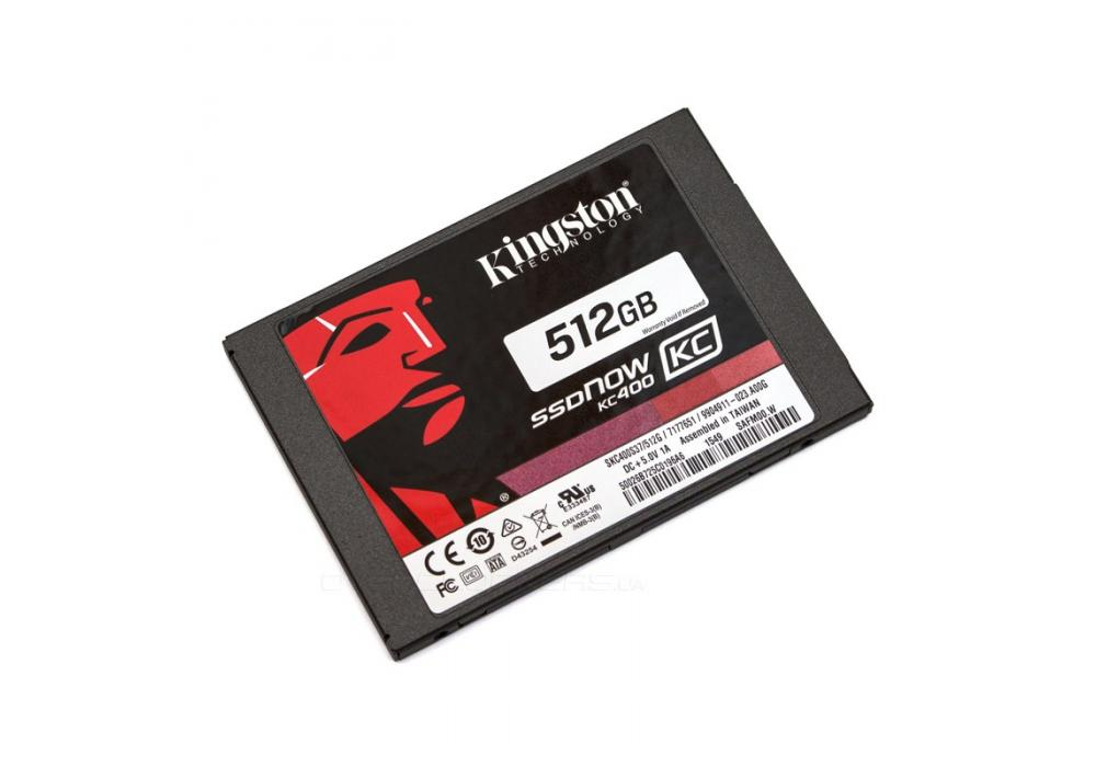 Kingston KC400 512GB SSD 15X