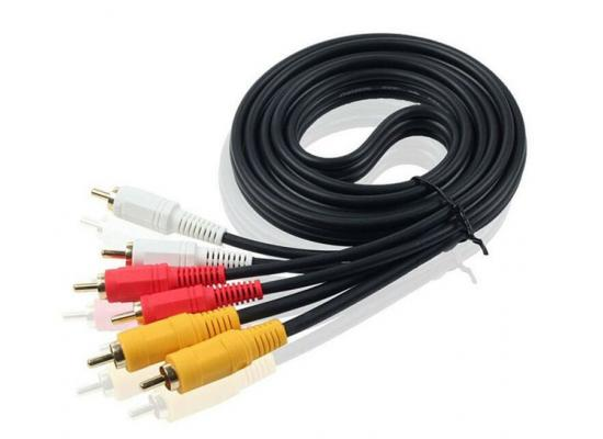AV CABLE 3RCA to 3RCA 3Meter
