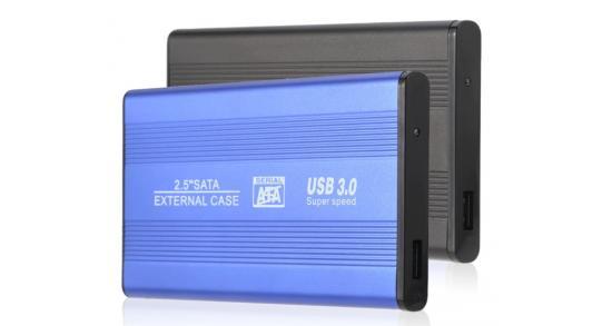 2.5-inch USB 3.0 SATA Hard Drive Enclosure S254U3