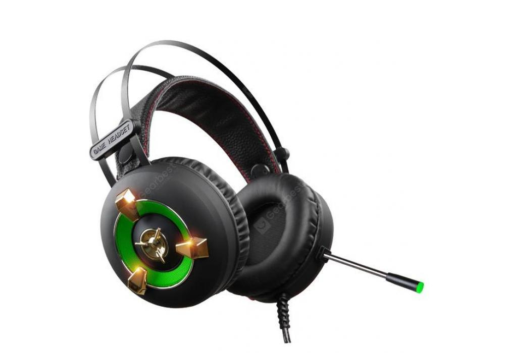 Headset Gaming GS919 USB