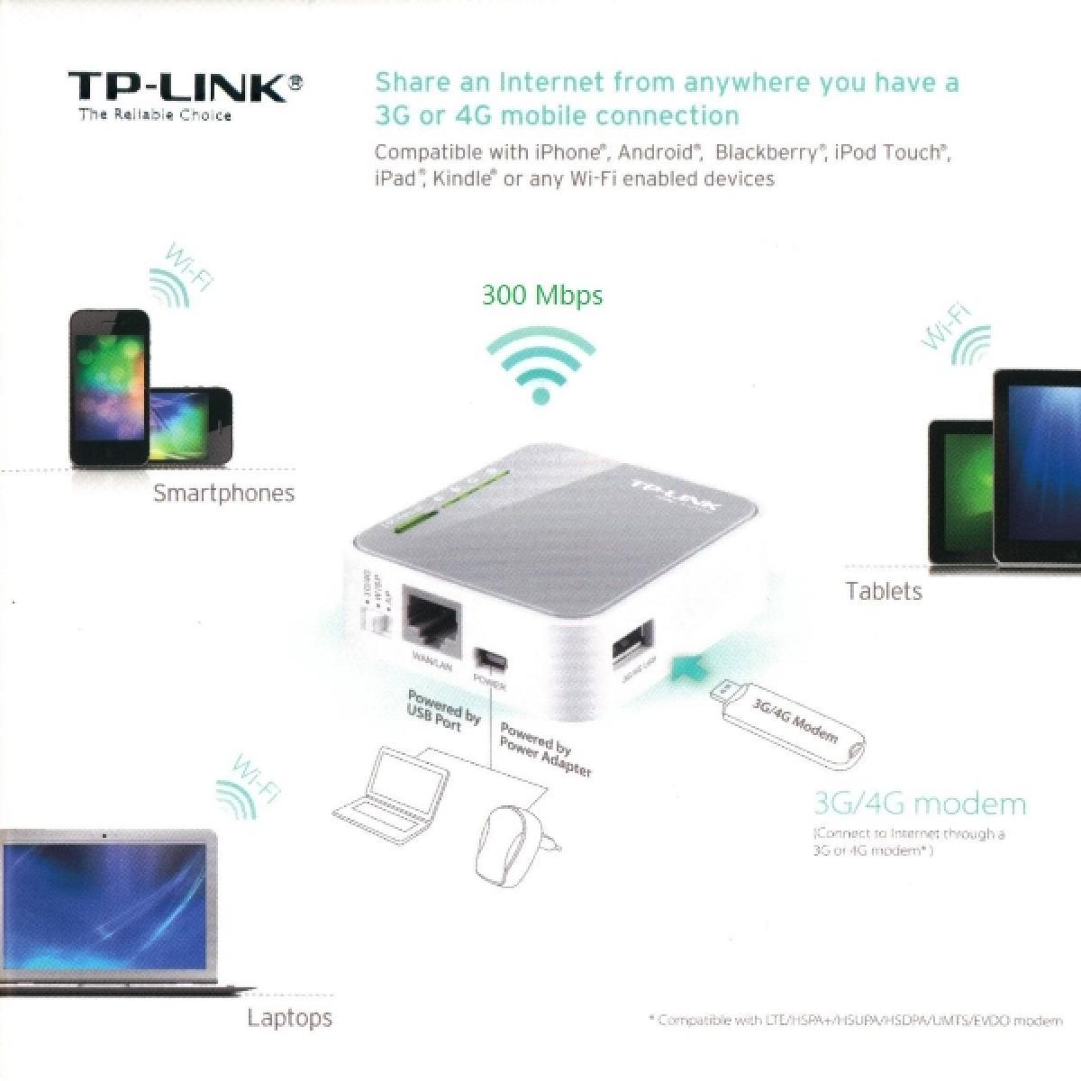 TP-LINK Portable 3G/4G Wireless N Router | GTS - Amman Jordan | GTS
