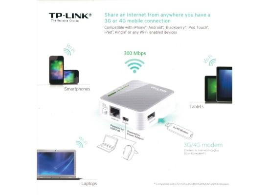 TP-LINK Portable 3G/4G Wireless N Router