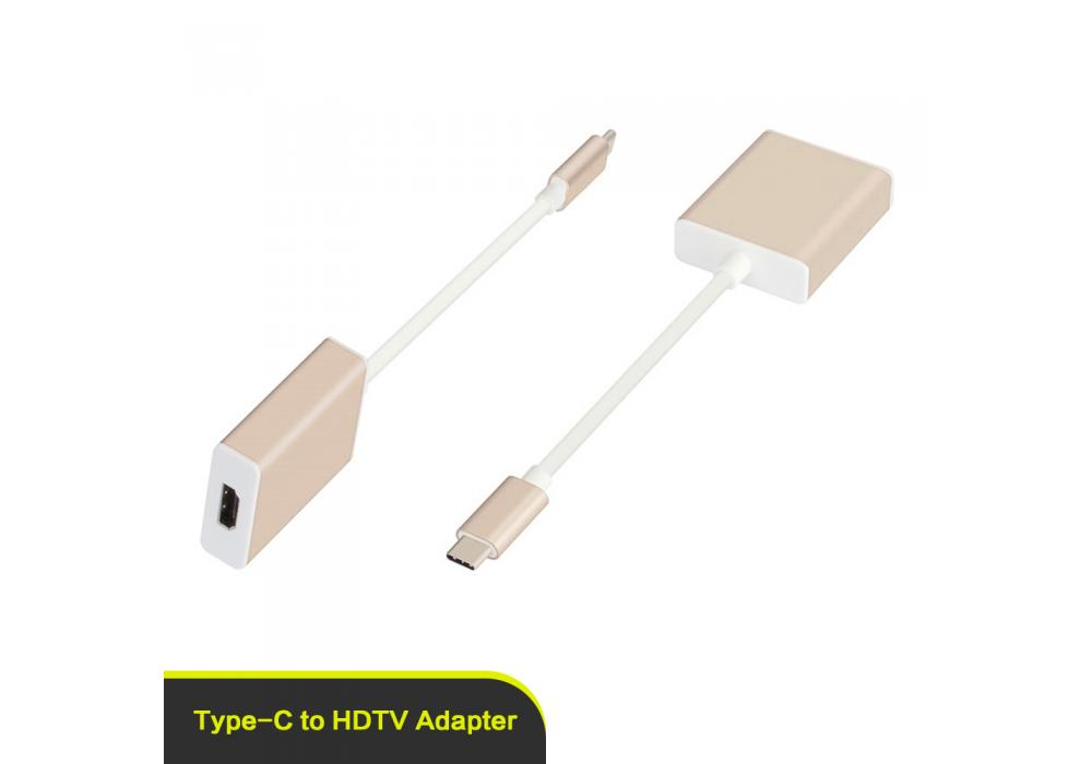 Converter USB3.1 Type-C To HDTV Adapter