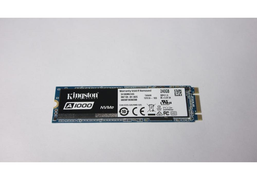 Kingston's A1000 Solid-state Drive M.2