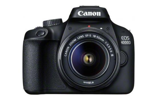 Canon Camera  EOS 4000D Body + EF-S 18-55mm