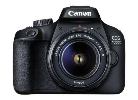 Canon Camera  EOS 4000D Body + EF-S 18-55mm