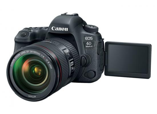 Canon Camera EOS 6D Mark II + EF 24-105mm