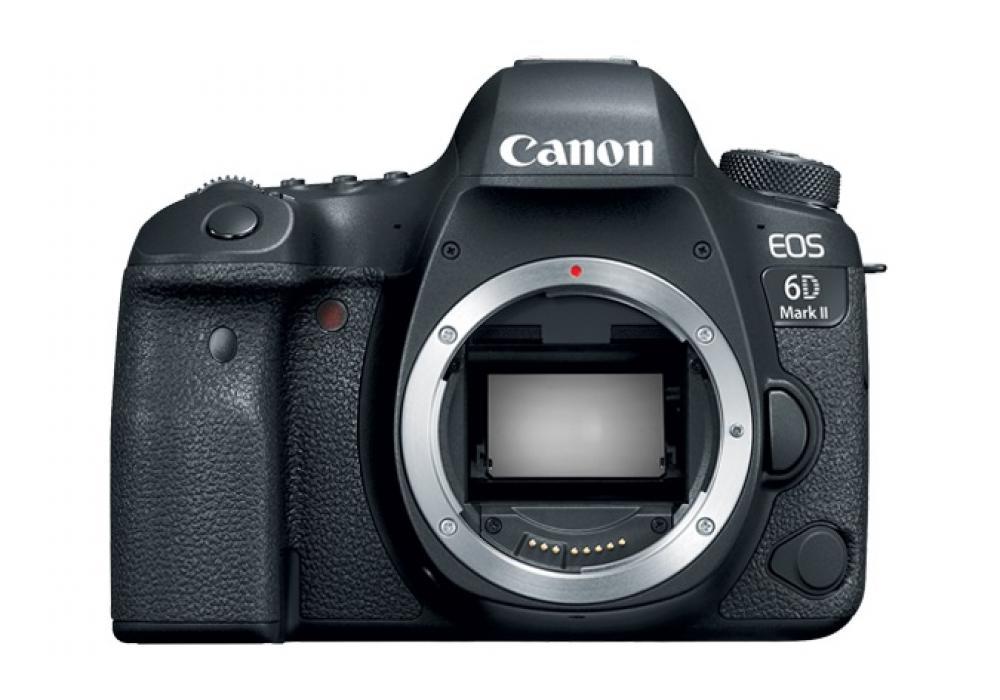 Canon Camera EOS 6D Mark II Body